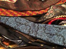 Lot 100 Vintage Polyester Acetate Rayon Neckties Quilt Wholesale Bulk Tie Lots