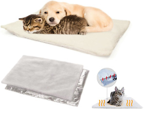 Self Heating Pet Pad Super Warm Rug For Cat Dog Puppy Bed Mat Soft Washable S/L