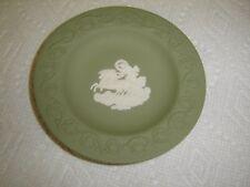 """Wedgwood Jasperware Green & White Round Dish 4 1/4"""" – Chariot"""