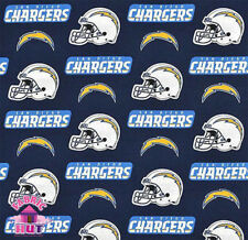 San Diego Chargers NFL Cotton Fabric 6281 D Throwback