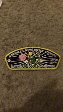 "2010 NATIONAL SCOUT JAMBOREE MARVEL IRON FIST PATCH 2""X 5"" IRON ON NICE !"
