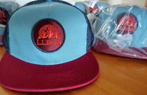 L.L. Bean's Trucker Hat / Cap Mens Evening Blue, NWT One Size Fits All