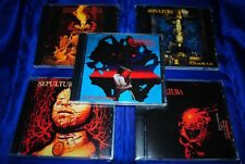 SEPULTURA - 5CD Set - Roots/Arise/Chaos A.D./Schizophrenia/Beneath The Remains