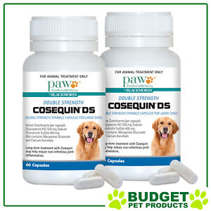 Paw Blackmores Cosequin Ds Large Dogs 12 (60 Capsules x 2)