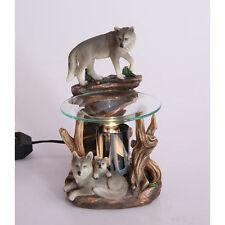 Wolves Fragrance Lamp Tart Scent Oil Warmer Burner Electric Diffuser Polyresin