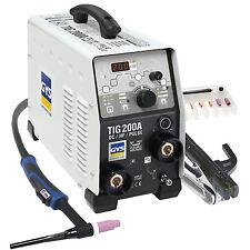 Saldatrice acciao inox rame TIG 200 DC HF FV INVERTER 011540 GYS 200 A