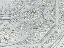 Antique Framed Linen ~ Textile