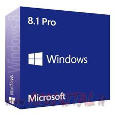 WINDOWS 8.1 PRO ESD con ADESIVO e DVD LICENZA UNIVERSALE ORIGINALE MICROSOFT 8