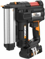 WORX WX840L 20V PowereShare NailForce 18 Gauge Brad Nail & Staple Gun