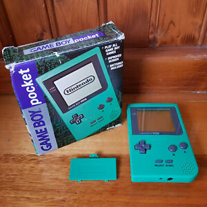 Nintendo Game Boy Pocket Green boxed in excellent condition - MGB-001 - Aust Rel