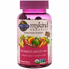 Orgánica para mujer vitamina múltiple 40+ jardín de la vida mykind Organics 120 Gotas De Goma