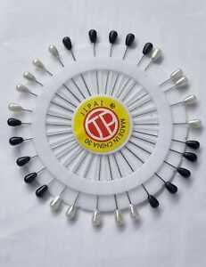 HIJAB PINS SCARF PINS 45mm Long MUSLIM HIJAB ABAYA PIN BIG 30PC WHEEL PIN