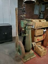 Antique Steam Engine E. T. Frank & Son Baltimore, Maryland Upright Large Nice