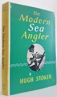 The Modern Sea Angler Hugh Stoker angling book Interesting Association Copy 1964