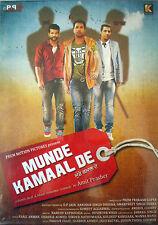 MUNDE KAMAAL DE -PUNJABI BOLLYWOOD DVD- Amrinder Gill, Binnu Dhillon,Yuvraj Hans
