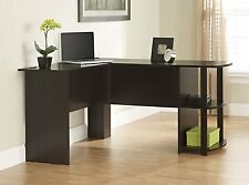 Desk L-Shaped Office Computer Corner Furniture Home Executive Workstation Table