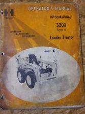 New listing early John Deere loader 3200 Tractor Owner Operator Manual User Guide vintage