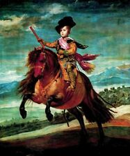 """oil painting handpainted on canvas""""Prince Baltasar Charles hunting """"@N9226"""