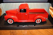 1940 Ford Pick Up Die Cast 1.18 New in box