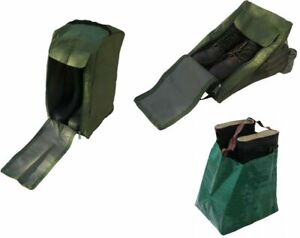 Boot Hiking Riding Wellington Wellie Shoes Green Tidy Storage Bag Garland