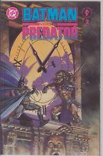 BATMAN VS PREDATOR 2/3 DARK HORSE  COMIC BOOK