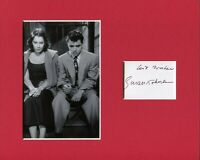 Susan Kohner Sexy Dino Signed Autograph Photo Display With Sal Mineo