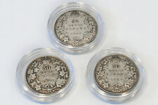 3 - Canada 50 Cent Coins 1920, 1929, 1934