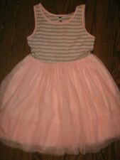 Girls dress Holiday casual  12 pink tutu princess cute! Beautees lined