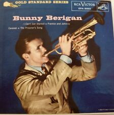 Bunny Berigan: I Can't Get Started/Frankie&Johnnie/Caravan/Prisoner's. 45RPM EP