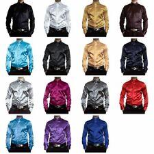 Herren Glanz Hemden B-Ware Hemd PMK14GPM Satin Kent Kragen Lang Arm 2. Wahl