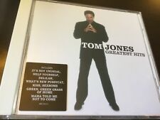 TOM JONES - GREATEST HITS CD - ITS NOT UNUSUAL / DELILAH / KISS / SEXBOMB +
