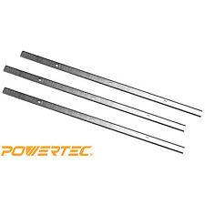 POWERTEC 128270 13-Inch Planer Knives for Delta 22-590, HSS, Set of 3