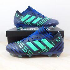 Adidas Nemeziz 17.1 Messi FG Mens Size 11 Soccer Cleats Blue Green Aqua