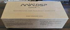 MINIDSP UMIK-1 OMNIDIRECTIONAL USB MEASUREMENT MICROPHONE MIC - IN BOX WITH CASE