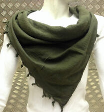 100% Cotton Shemagh / Arab Scarf / Pashmina / Wrap / Sarong. Green - NEW