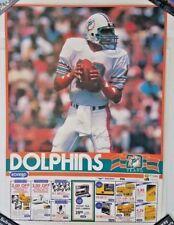 1985 DAN MARINO Miami Dolphins Poster Eckerd Drug Kodak Eastern NFL Football