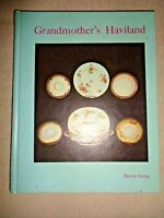Grandmother's Haviland China by Harriet Young French Porcelain Theodore Plates