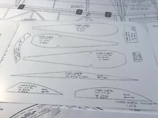 Morris Hobbies Top Cap R/C Airplane Kit Plans And Templates.
