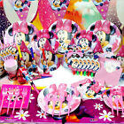 Mickey Minnie Mouse Theme Birthday Party Supply Set Tableware Decoration For Kid