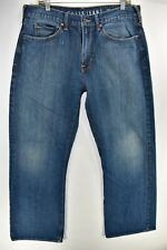 Guess The Cliff Boot Cut Fit Mens Blue Jeans Size 36x32 Meas. 35x32 Bootcut