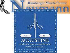 Azul Juego Konzert Guitarra Acordes String Cuerdas Augustine High Tension