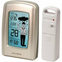 Acurite Professional 00638a1 Weather Forecaster Wall 330 Ft Desktop
