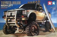 1/10 TAMIYA 58397 TOYOTA Hilux High Lift 4X4 PICK-UP truck Off Road RC Kit