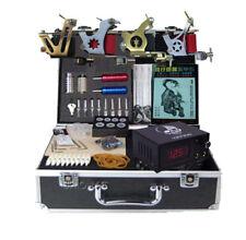 new Complete Set Tattoo Kit 4 Machine Gun kit Motor Power 50 Needles tattooing