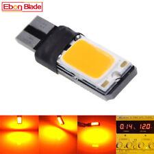 2Pcs Amber Orange T10 194 W5W 168 LED Bulbs Canbus Car Side Wedge Marker Light