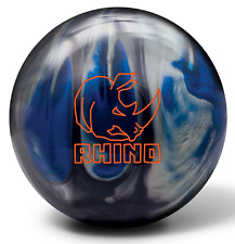 13lb Brunswick Rhino Blue/Black/Silver Pearl Reactive Bowling Ball NEW