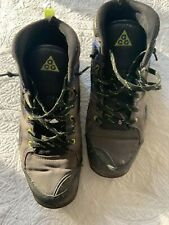 Nike Acg Hi - Top Tennis Shoes Mens Size 10 Black and Green