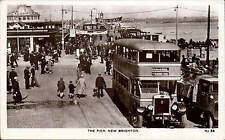 New Brighton. The Pier # 34 by Whitfield & Cannon, Wallasey. Bus to Seacombe.
