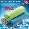 3X Instant Cooling Towel ICE Cold Golf Cycling Jogging Gym Sports Outdoor Towel