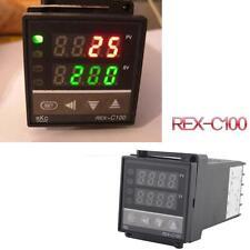 0~400°C Dual PID Digital Temperature Control Controller Thermocouple REX-C100 qw